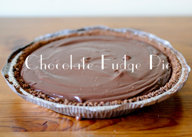chocolate tofu pie_9